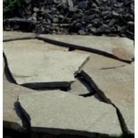 Камень плитняк песчаник серо-зеленый 1,5 см