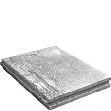 Гипсовая плита  667х500х100 (полнотелая) Волма