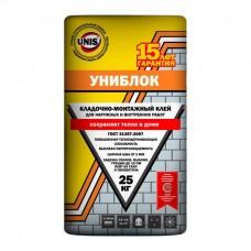 ЮНИС Униблок Кладочно-монтажный клей 25 кг
