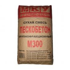Сухая смесь МКУ М300 крупнофракционная