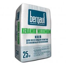 """Клей Для Сложных Основ. Bergauf """"Keramik Maximum», 25 кг"""