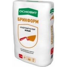 Кладочный Раствор ОСНОВИТ БРИКФОРМ Т-111 (25 кг) графит.