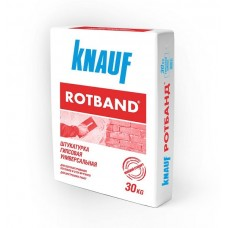 Штукатурка Knauf «Ротбанд» белая, 30 кг