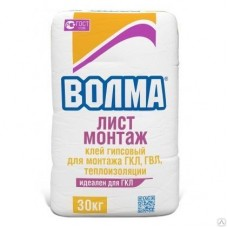 Клей «Волма-Лист Монтаж», 30 кг