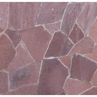 Камень плитняк лемезит бордо 2 см