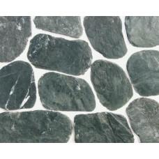 Камень сланец малахит галтованный1-2,5 см