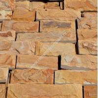Плитка песчаник желто-коричневый со сколом